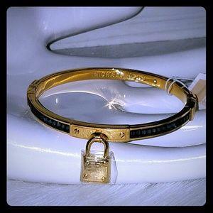 Michael kors lock bangle bracelet